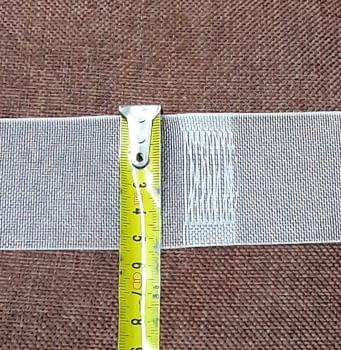 Cinta pasabarras cristal 5 cm - 1