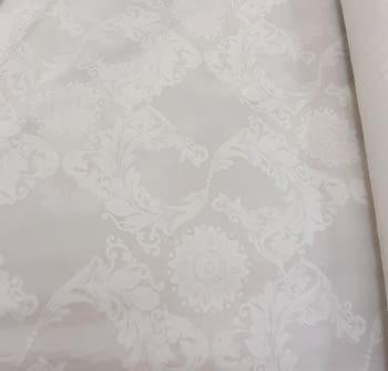 Tela visillo adamascado blanco 300 - 2