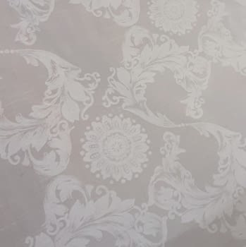 Tela visillo adamascado blanco 300 - 5
