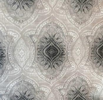 Tela adamascada gris 1,40 x 2,75