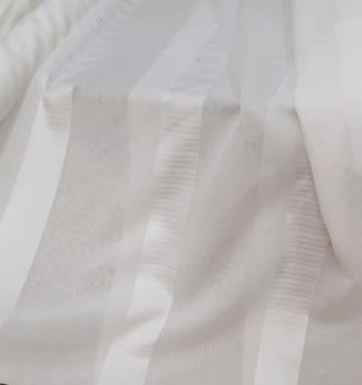 Tela visillo blanco raya elegance 300