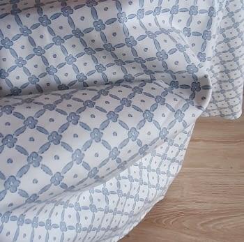 Faldilla redonda azul 136 cm - 4