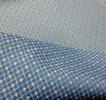 Retal tela reversible azul 60 x 280