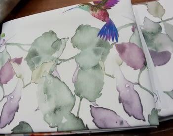 Manteles antimanchas colibríes - 2