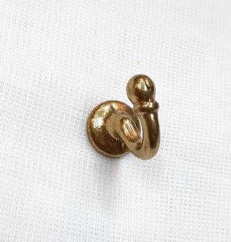 Alzapaño gancho dorado 3,00 cm - 2