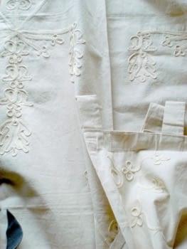 Cortinas artesanales - 1