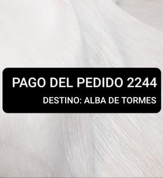 Pago pedido 2244 (Carlos)