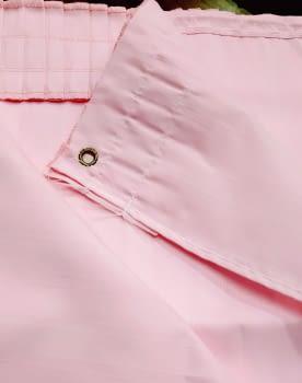 Cortina baño rosa 145 x 180 cm - 3