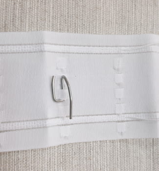 Ganchitos cortinas metal percha