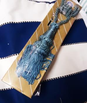 Abrazadera cordón azul - 1