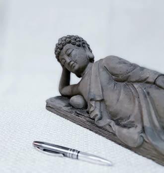 Buda tumbado pequeño - 2