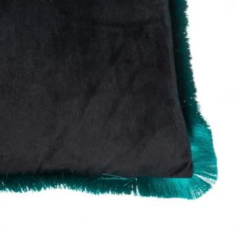 Cojín pavo real verde agua 45 x 45 - 2