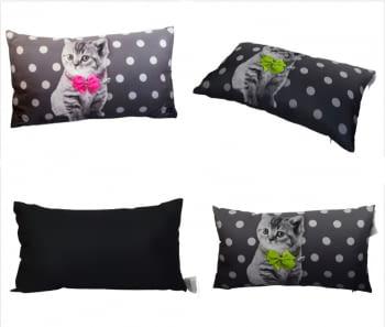 Cojines gatito rectangular 30 x 50
