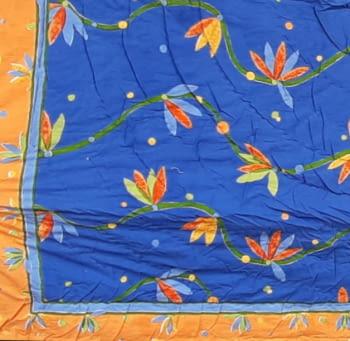 Boutie acolchado India azulón cama 80/90 - 1