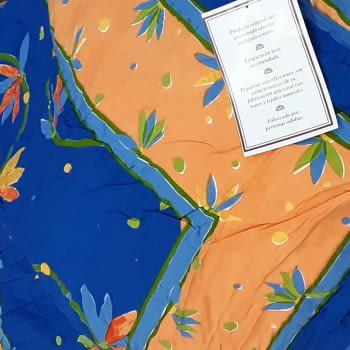 Boutie acolchado India azulón cama 80/90 - 2