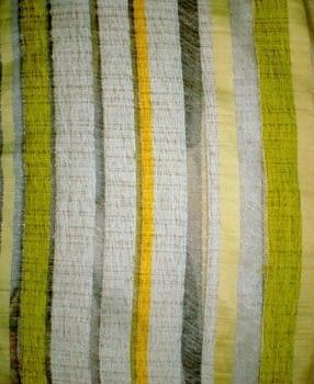 Tela Visillo rayas seda y chenilla