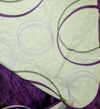 Colcha reversible círculos - 1