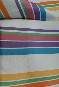 Colcha multiusos Arco iris - 1