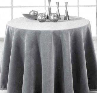 Faldilla terciopelo gris 80