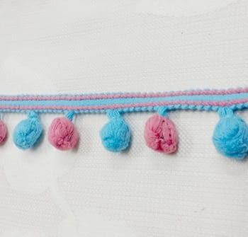 Madroños azul y rosa