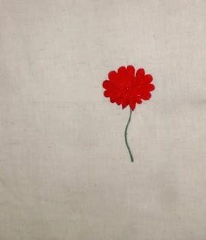 Colchas multiusos flor bordada - 2