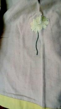 Colchas multiusos flor bordada - 5