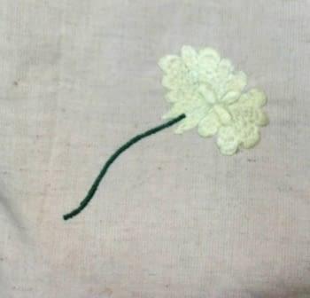 Colchas multiusos flor bordada - 6