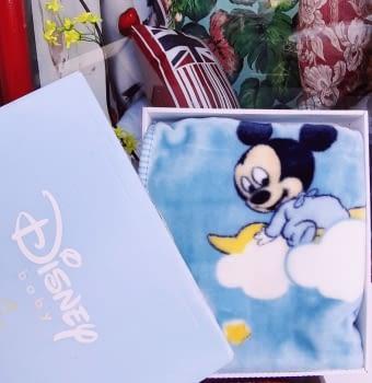 Manta bebé Mickey