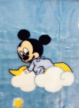 Manta bebé Mickey - 2
