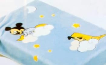 Manta bebé Mickey - 4