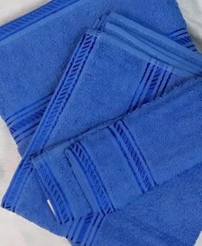 Juego 3 Toallas azul - 3