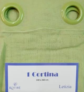 1 Visillos Leticia verde