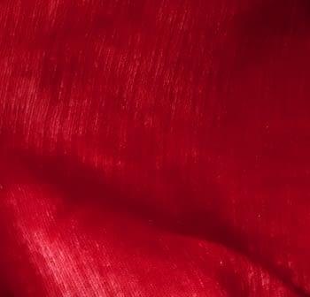 Tela Chenilla roja - 1