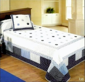 Boutí azul cama 150