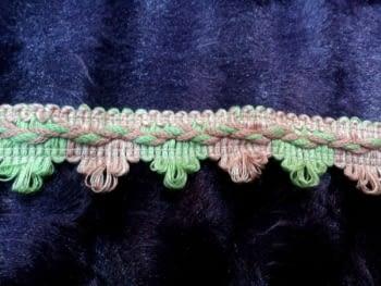 Galón rosa verde