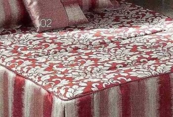 Colcha edredón roja - 1