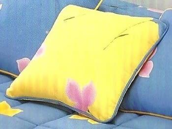 Colcha edredón amarilla - 1