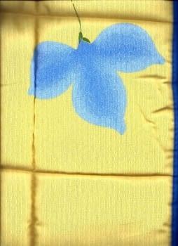 Colcha edredón amarilla - 3