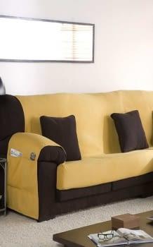 Salva sofás amarillo