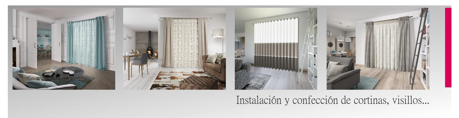 Confección cortinas