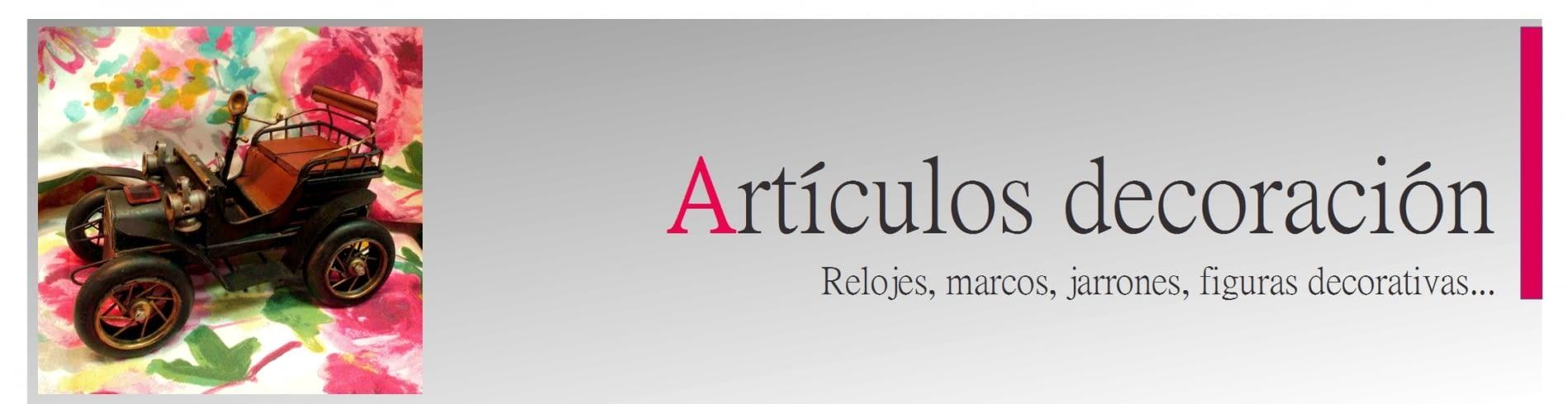 ARTÍCULOS DECORACIÓN