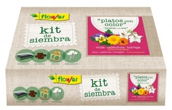 KIT SIEMBRA PLATOS CON COLOR