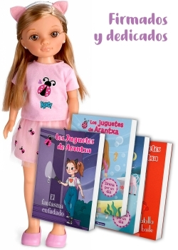Nancy - Un Día con Arantxa + 4 libros