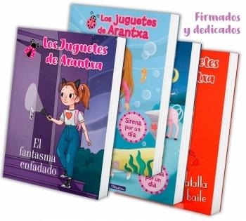 Colección 4 libros