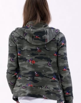 MET chaqueta en felpa con estampado camuflage - 2