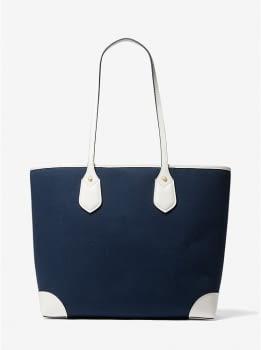 MICHAEL KORS shopping azul marino con logo - 2