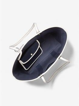 MICHAEL KORS shopping azul marino con logo - 3