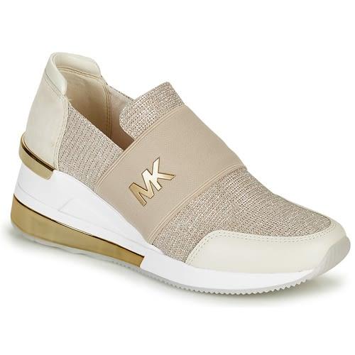 MICHAEL KORS zapato topolino elástica champagne