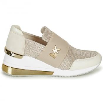 MICHAEL KORS zapato topolino elástica champagne - 2