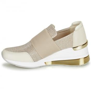 MICHAEL KORS zapato topolino elástica champagne - 4